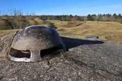 Primera fortaleza Douaumont de la guerra mundial Imágenes de archivo libres de regalías