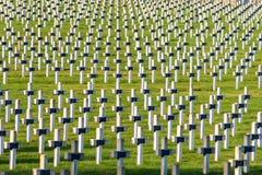 Primera Guerra Mundial del cementerio en el La Targette de Francia Vimy Imagenes de archivo