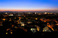 Primera luz en Roma Fotografía de archivo libre de regalías