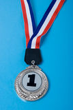 Primera medalla del lugar Fotos de archivo libres de regalías