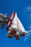 Primera nave espacial rusa Vostok Imagenes de archivo