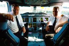 Primera vez A380 en Praga Fotografía de archivo libre de regalías