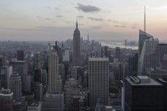 Primera vez en Nueva York foto de archivo