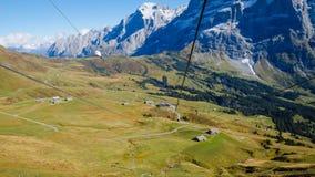 Primeras montañas Suiza Imágenes de archivo libres de regalías