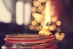 Primeras vistas de la Navidad foto de archivo libre de regalías