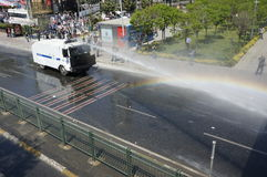 Primero de mayo en Estambul Imagen de archivo