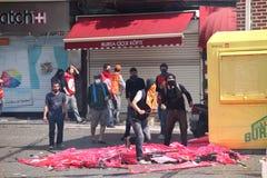 Primero de mayo en Estambul Fotos de archivo libres de regalías