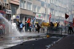Primero de mayo en Estambul, Turquía. Fotografía de archivo