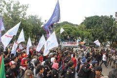 Primero de mayo 2013 en Jakarta Fotos de archivo libres de regalías