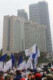 Primero de mayo 2013 en Jakarta Fotografía de archivo