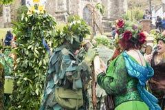 Primero de mayo Jack de Hastings en el festival verde 2017 Imagenes de archivo
