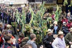 Primero de mayo Jack de Hastings en el festival verde 2017 Imagen de archivo