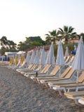 Primero en la playa Imagen de archivo