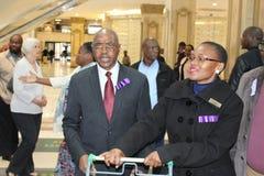 Primero ministro de Kwazulu Natal en Durban Dischem Imagen de archivo