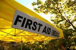 Primeros auxilios Imagen de archivo libre de regalías