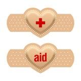 Primeros auxilios con amor Fotografía de archivo libre de regalías