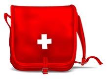 Primeros auxilios Kit Shoulder Bag Imagen de archivo libre de regalías