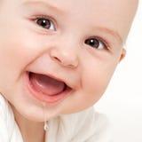 Primeros dientes crecientes Foto de archivo libre de regalías