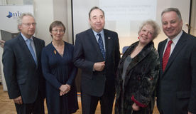 Primeros ministros del escocés Foto de archivo libre de regalías
