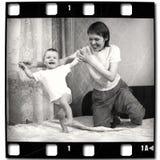Primeros pasos de progresión foto de archivo