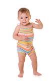 Primeros pasos del bebé fotos de archivo libres de regalías