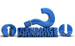 Primes d'assurance médicale maladie Photographie stock libre de droits