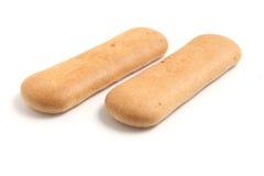Primi biscotti del bambino Fotografie Stock Libere da Diritti