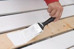 Priming wood Stock Photos