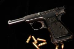 Primitief M1917-Pistool Royalty-vrije Stock Afbeeldingen
