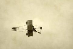 Primitief vliegtuig Stock Fotografie