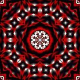 Primitieve Boheemse geïnspireerdeu mandala Stock Foto