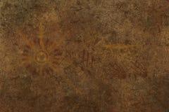 Primitiv grottakonst & x28; hominid style& x29; Royaltyfri Foto