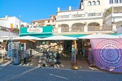 Primitiv Shop Puerto Soller Stock Images
