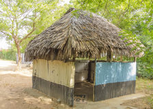 Primitive african mosque Royalty Free Stock Image