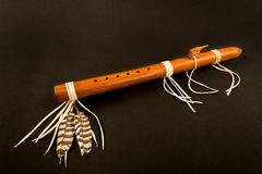 Free Primitive Antique Native American Flute. Stock Photos - 88536453