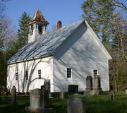 Primitive Baptist Church. Cades Cove,Townsend TN Stock Image