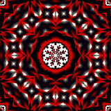 Primitive Bohemian inspired mandala Stock Photo