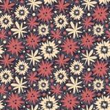 Primitive flowers Stock Image