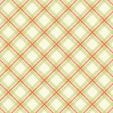 Primitive retro gingham background Royalty Free Stock Photos