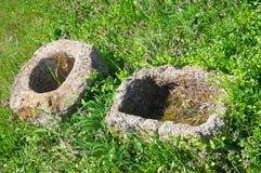 Primitive Scythian stone utensils Royalty Free Stock Image
