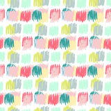 Primitive seamless pattern. Autumn simple texture for kids fabric, textile, birthday card, wrapping Stock Images
