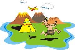 Primitive tribe Royalty Free Stock Image