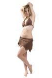 Primitive woman 4 Stock Images