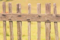 Primitive Wood Fence Stock Photo