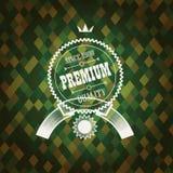 Primium quality label design Royalty Free Stock Images