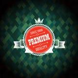 Primium quality label design Stock Photo