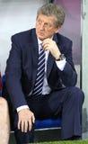 Primo allenatore della squadra di football americano di Roy Hodgson - dell'Inghilterra Immagini Stock Libere da Diritti