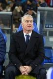 Primo allenatore della squadra di football americano nazionale Didier Deschamps della Francia Immagini Stock