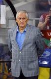 Primo allenatore della squadra di football americano nazionale Mykhailo Fomenko dell'Ucraina Fotografie Stock Libere da Diritti