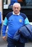 Primo allenatore della squadra di football americano nazionale Mykhailo Fomenko dell'Ucraina Fotografia Stock